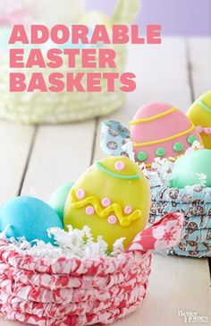 Adorable Easy Easter Basket ideas