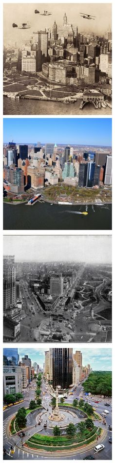 Then Vs. Now: 1920s New York City ............ The city has undergone some major changes since the Roaring '20s....... Kur <3