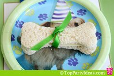 Dog Party Sandwiches