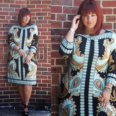 """""""Gloriously Gaudy"""" scored this amazing dress! Celebrate your style!"""