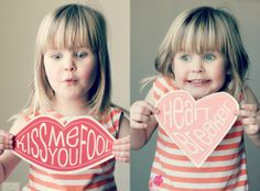 So cute! Free Printable Valentines on Crafted by Lindy #ValentinesDay #Printable