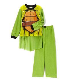 TMNT Three-Piece Pajama Set 20$