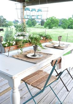 Outdoor setting
