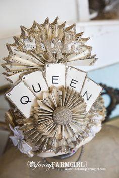 #crowns #DIY #gifts #tiara