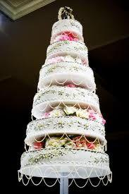 cool wedding cake tower