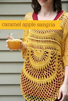 Caramel Apple Sangria from MomAdvice.com.