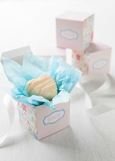 Favor Box Printable via Baking Pretty