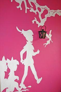 mooie muurschildering