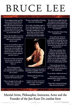 Bruce Lee quotes galore