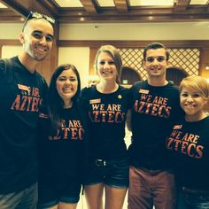 """@breelutjens's photo: """"Who's the best college at SDSU? ARTS AND LETTERS. #sdsu #orientation #ambassadors"""""""