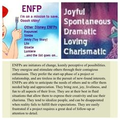 ENFP Meyers-Briggs personality test that's freakishly accurate and I believe describes me to a T. Here's the link! http://personality-testing.info/tests/JUNG.php