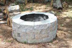 DIY Inexpensive Backyard Firepit!