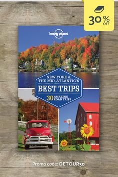 Discover the freedom of the open road with New York & the Mid-Atlantic's Best Trips. We've selected amazing road trips through New York & the Mid-Atlantic, from two-day escapes to week-long adventures, and packed them full of expert advice and inspirational suggestions. Whether you want to visit the National Mall, stroll through New York City's Central Park or explore the New Jersey coastline, we've got the trip for you. | CLICK THROUGH AND ENTER THE PROMO CODE FOR 30% OFF THIS TITLE #lproadtrip