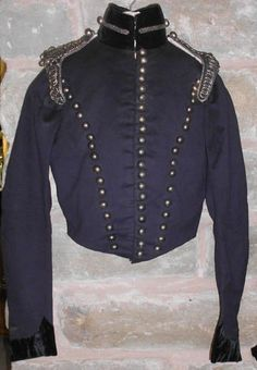 Stirlingshire Yeomanry tunic, circa 1820.