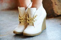DIY chain shoes