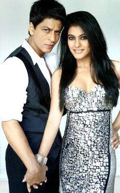 SRK and Kajol in Vogue