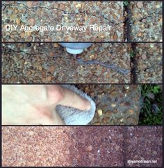 Do you have cracks in your aggregate driveway? There is an easy fix! Here's what to do