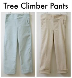 These Tree Climber Pants look so comfy!
