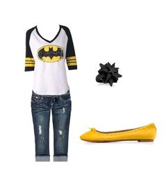 I want this shirt! N sorry, no yellow flats for me. Black flip-flops please:)