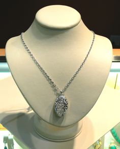 Pampillonia Jewelers can show you this stunning Monica Rich Kossan sterling silver locket. $625