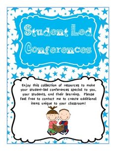 Student Led Conference Data Binder for Parent Conferences | Run Teacher Run | {1-6}