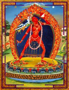 Red Dakini - Mandalas.com