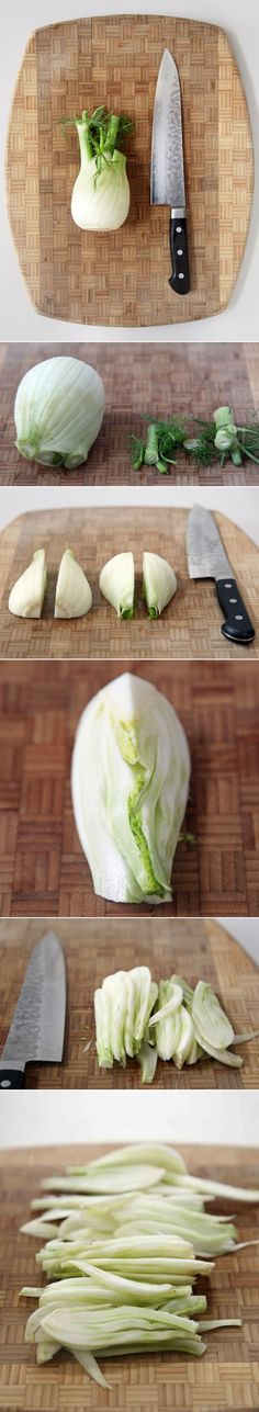 How to Slice Fennel Without a Mandoline