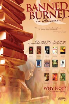 Banned Books Poster - READ!
