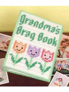 canva pattern, brag book, plastic canva