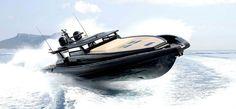 Black Shiver 220 Superyacht Tender by Novamarine