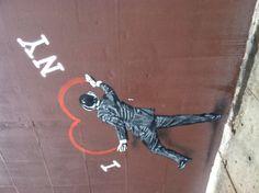 Heart Vandal - Ludlow at Delancey, Lower East Side