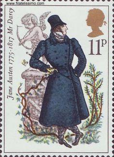 Jane Austen Stamps - jane-austen photo