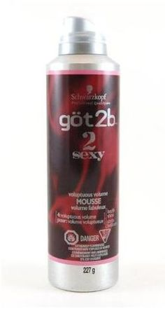 Got2b - Best Mousse! for thick curly hair.