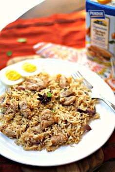 Saffron Chicken Pulao for those lazy weeknghts and it only takes 30mins to cook!The flavors are even more richer using @perduechicken  Signature Chicken Stock and I'm sharing it for our #WeekdaySupper  !! #chicken #recipes #holidays #onepotmeals #30minmeals  #easy #kids #healthy #food #cooking