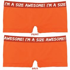 I'm a size awesome!