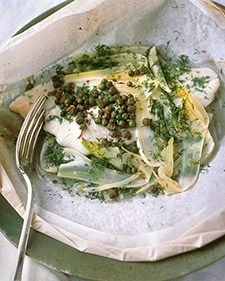 Baking Fish en Papillote (in Parchment).....healthy, easy and delicious! My favorite is Martha's Halibut in Parchment. YUM!