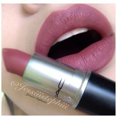 """#ShareIG ✨Lipswatch✨ Here is one of my all time favorite pinks """"Brave"""" by M.A.C"""