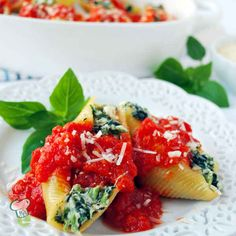 Spinach Stuffed Shel