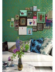 #pictures #livingroom #green