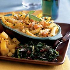 Butternut Squash and Parsnip Baked Pasta | MyRecipes.com #MyPlate #grain #vegetable