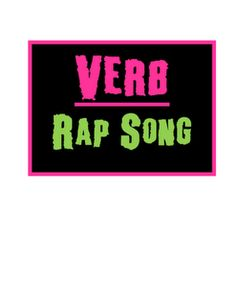 Verb Rap.. now how to get this onto a thumb drive... hmmm Does anyone know how to do this?  I would love you forever!