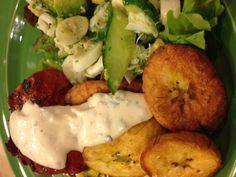 Achiote Grilled Mahi Mahi, Corn and Black Bean Salsa, Crab and Avocado ...