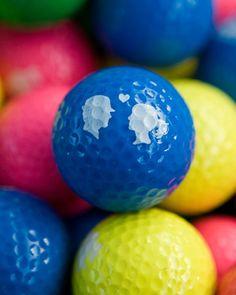 Love Crazy colored golf balls!