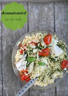 Healthy Grilled Halibut and Tomatoes Pesto Orzo - I used the pan fried fish fillet recipe to make the fish. I also added a little feta