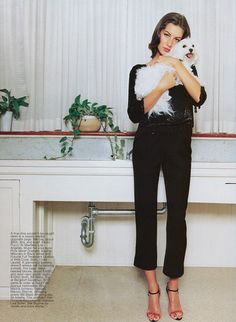 Gisele Bündchen by Terry Richardson. Harper's Bazaar, May 1999.