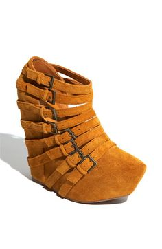 I just bought these #Jeffrey Campbell wedges : )