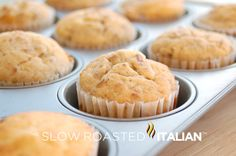 The Best Muffins EVER! Banana Nut Coffee Cake Muffins