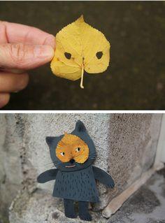 DIY:Fall Leaves Craft Ideas