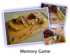 THE MEMORY GAME: This game is a favourite for kids, especially at sleepovers and slumber parties. You can also use this for family games, especially at Christmas and New Year. Here's how to play.    YOU WILL NEED    -a tray   -a collection of small random objects (about 20 max for each round)   -a cloth to cover the tray   -paper and pens for everyone.