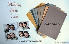 DIY: Holiday Photo Cards